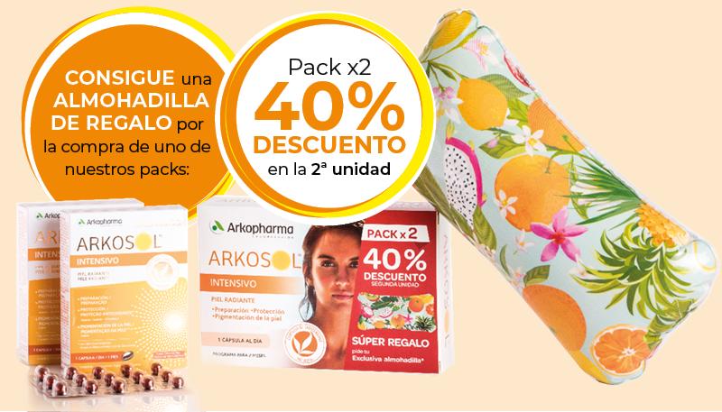Consigue una almohadilla de regalo por la compra de uno de nuestros packs: Pack x2 con un 40% dto en la 2ª unidad