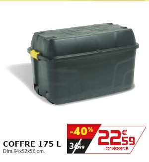Coffre 175L