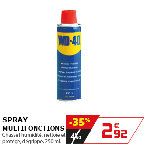 Spray multifonctions