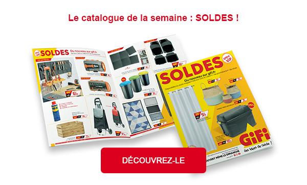 Le catalogue de la semaine : SOLDES !