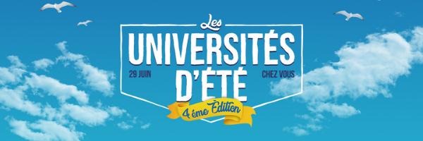 Affiche 4ème édition des Universités d'été de HelloAsso 2021