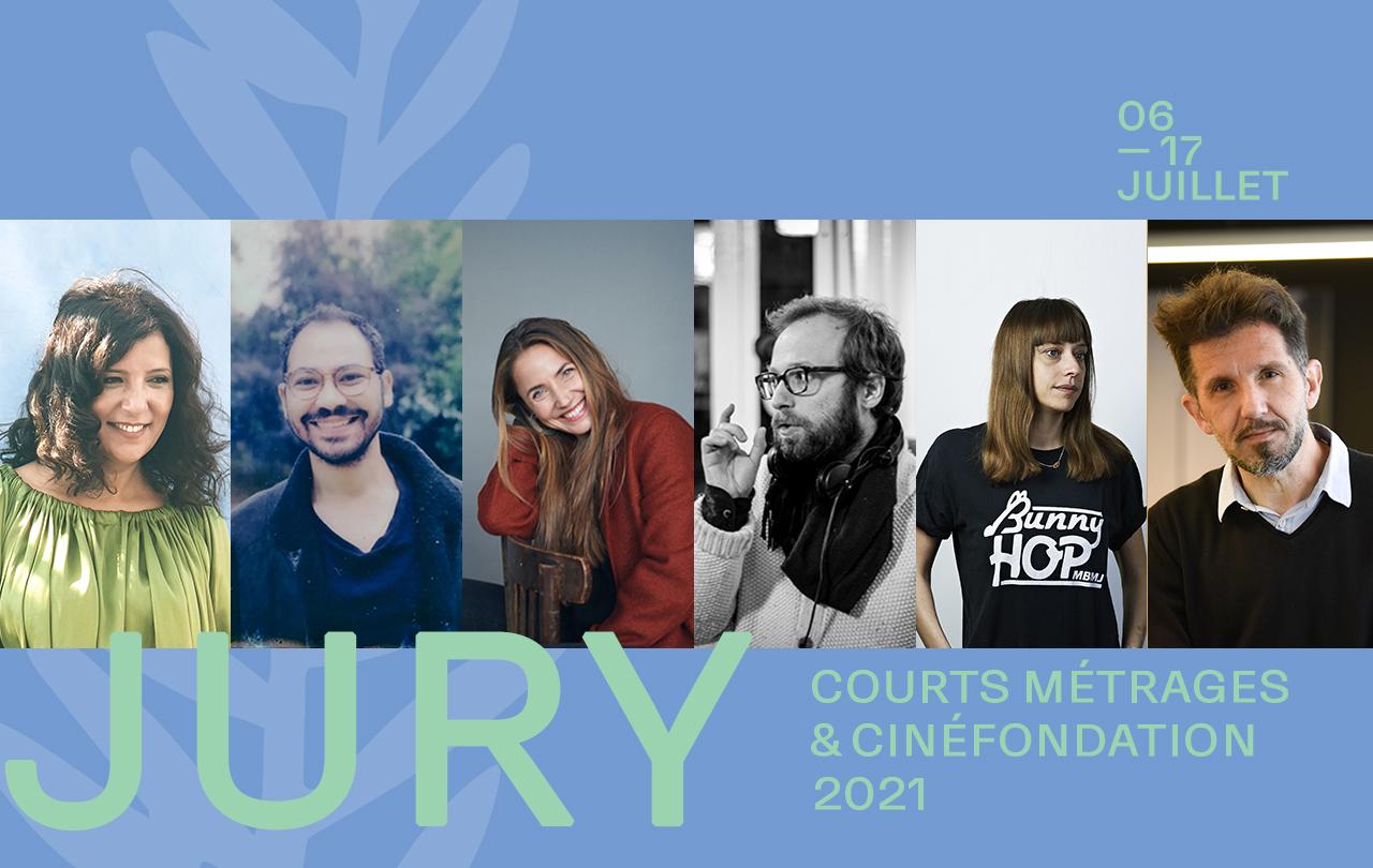 Le Jury et la Sélection des courts métrages et de la Cinéfondation 2021